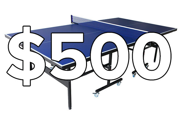 The Best Ping Pong Tables Under $500
